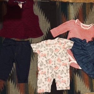 Baby girl outfits 0-3 months  & 3 months 💕
